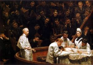 The Agnew Clinic by Thomas Eakins/owned by the University of Pennsylvania