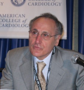 Prof. Germano Di Sciascio  /photo: Mitchel Zoler