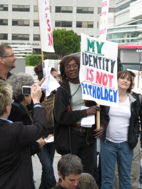 Transgender demonstration 4