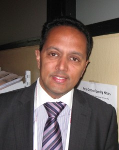 Dr. Michael T. Nurmohamed/photo Mitchel Zoler