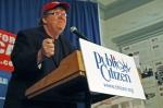 Filmmaker Michael Moore. Courtesy Bridgette Blair at Public Citizen.